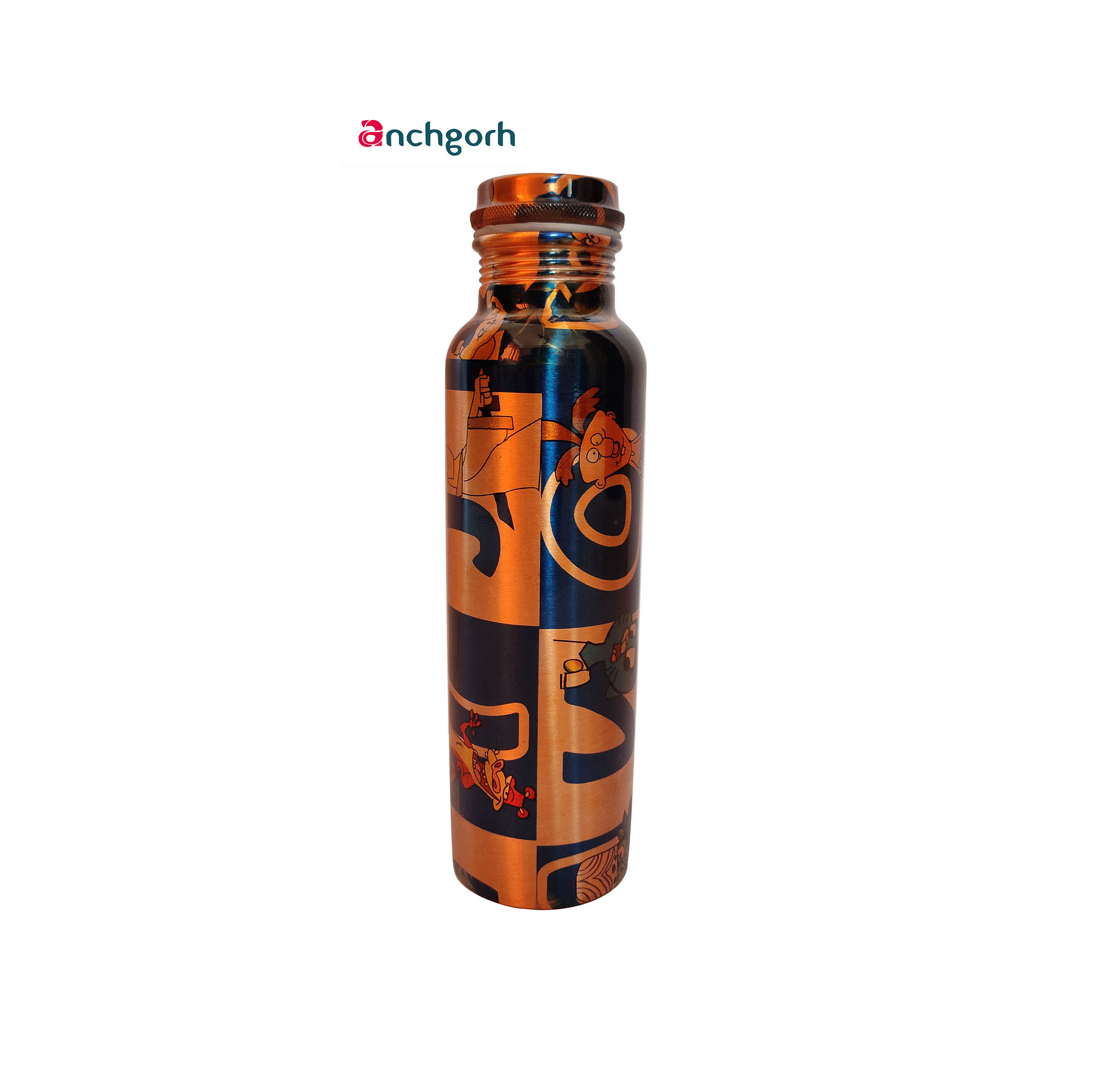 Anchgorh-printed-copper-bottle