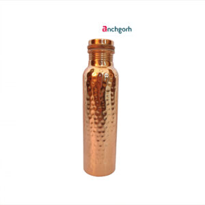 hammered copper bottle by anchgorh.com